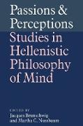 Cover-Bild zu Brunschwig, Jacques (Hrsg.): Passions and Perceptions