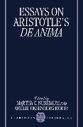 Cover-Bild zu Nussbaum, Martha C. (Hrsg.): Essays on Aristotle's De Anima
