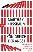 Cover-Bild zu Nussbaum, Martha C.: Königreich der Angst