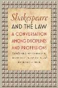 Cover-Bild zu Cormack, Bradin (Hrsg.): Shakespeare and the Law