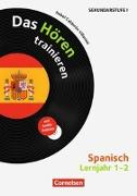 Cover-Bild zu Hörkompetenz in den Fremdsprachen Sekundarstufe I/II 1./2. Schuljahr. Spanisch. Das Hören trainieren