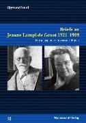 Cover-Bild zu Bögels, Gertie F.: Briefe an Jeanne Lampl-de Groot 1921-1939 (eBook)