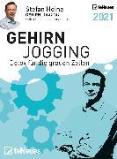 Cover-Bild zu Stefan Heine Gehirnjogging 2021 Tagesabreißkalender - 11,8x15,9 - Rätselkalender - Knobelkalender - Tischkalender von Heine, Stefan