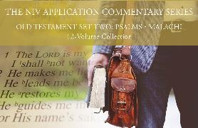 Cover-Bild zu Wilson, Gerald H.: The NIV Application Commentary, Old Testament Set Two: Psalms-Malachi, 12-Volume Collection