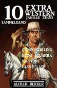 Cover-Bild zu Bekker, Alfred: 10 Extra Western Januar 2020: Sammelband (eBook)