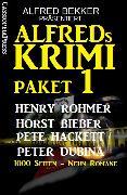 Cover-Bild zu Rohmer, Henry: Alfreds Krimi Paket 1 (eBook)