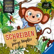 Cover-Bild zu Simon, Anne: Schreiben für junge Hüpfer