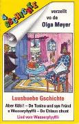 Cover-Bild zu Meyer, Olga: Aber Köbi /De Chlaus chunt /De Tonino und syn Fründ /S Wasserpfyyffli