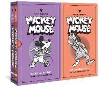 Cover-Bild zu Gottfredson, Floyd: Walt Disney's Mickey Mouse Gift Box Set: Mickey vs. Mickey and the Mysterious Dr. X: Vols. 11 & 12