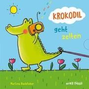 Cover-Bild zu Krokodil geht zelten von Badstuber, Martina