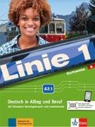 Cover-Bild zu Dengler, Stefanie: Linie 1 Schweiz A2.1. Kurs -und Übungsbuch mit DVD-ROM