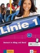 Cover-Bild zu Dengler, Stefanie: Linie 1 B1. Kurs- und Übungsbuch mit DVD-ROM