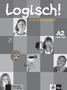 Cover-Bild zu Dengler, Stefanie: Logisch! A2 - Arbeitsbuch A2 mit Audio-CD