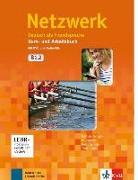 Cover-Bild zu Dengler, Stefanie: Netzwerk B1. Kurs- und Arbeitsbuch mit DVD und 2 Audio-CDs, Teil 2