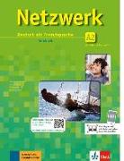 Cover-Bild zu Dengler, Stefanie: Netzwerk A2. Kursbuch mit 2 DVDs und 2 Audio-CDs