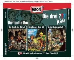 Cover-Bild zu Die drei ??? Kids 3er Box 05. Folge 13-15