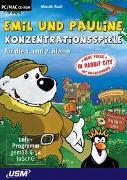 Cover-Bild zu Emil und Pauline in Rabbit City - Konzentrationsspiele für die 1. und 2. Klasse (CD-ROM)