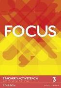 Cover-Bild zu Focus BrE Level 3 Teacher's Active Teach