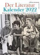 Cover-Bild zu Der Literatur Kalender 2022 von Raabe, Elisabeth (Hrsg.)