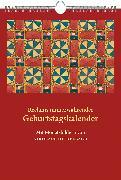 Cover-Bild zu Reclams immerwährender Geburtstagskalender von Heidelbach, Nikolaus (Illustr.)