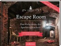 Cover-Bild zu Escape Room. Das Geheimnis des Spielzeugmachers. Das Original: Der neue Escape-Room-Adventskalender von Eva Eich von Eich, Eva