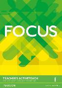 Cover-Bild zu Focus BrE Level 1 Teacher's Active Teach