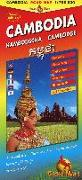 Cover-Bild zu Kambodscha, Cambodia, Cambodge Strassenkarte. 1:750'000