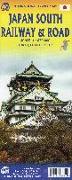 Cover-Bild zu Japan South Railway & Road Map 1:670 000. 1:670'000