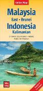 Cover-Bild zu Nelles Map Landkarte Malaysia: East - Brunei - Indonesia: Kalimantan. 1:1'500'000