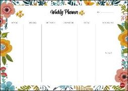 Cover-Bild zu Weekly Planner Flowers DIN A4