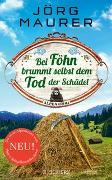 Cover-Bild zu Bei Föhn brummt selbst dem Tod der Schädel von Maurer, Jörg
