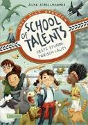 Cover-Bild zu School of Talents 1: Erste Stunde: Tierisch laut! von Schellhammer, Silke