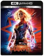 Cover-Bild zu Boden, Anna (Reg.): Captain Marvel - 4K+2D (2 Disc)