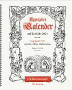 Cover-Bild zu Appenzeller Kalender 2022 von König, Christine