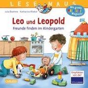 Cover-Bild zu Boehme, Julia: LESEMAUS 194: Leo und Leopold - Freunde finden im Kindergarten
