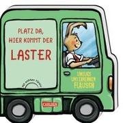 Cover-Bild zu Wieker, Katharina: Mein kleiner Fahrzeugspaß: Platz da, hier kommt der Laster