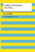 Cover-Bild zu Hauptmann, Gerhart: Die Weber. Schauspiel aus den vierziger Jahren. Textausgabe mit Kommentar und Materialien (eBook)