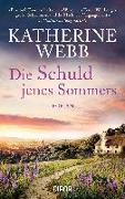 Cover-Bild zu Die Schuld jenes Sommers von Webb, Katherine