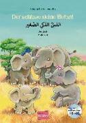 Cover-Bild zu Volk, Katharina E.: Der schlaue kleine Elefant - Deutsch-Arabisch