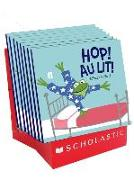 Cover-Bild zu Oldland, Nicholas: Hop! Au Lit! Pr?sentoir de Comptoir 8 Exemplaires