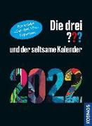 Cover-Bild zu Die drei ??? und der seltsame Kalender 2022 von Ruch, Andreas