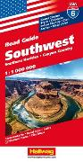 Cover-Bild zu Southwest, Southern Rockies, Canyon Country Strassenkarte 1:1 Mio, Road Guide Nr. 6. 1:1'000'000