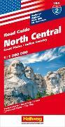 Cover-Bild zu North Central Strassenkarte 1:1 Mio, Road Guide Nr. 2. 1:1'000'000