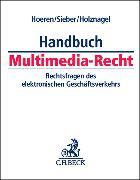 Cover-Bild zu Hoeren, Thomas (Hrsg.): Handbuch Multimedia-Recht - Handbuch Multimedia-Recht