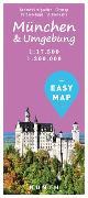 Cover-Bild zu EASY MAP München & Umgebung. 1:17'500