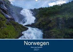 Cover-Bild zu Ulven Photography (Wiebke Schröder), Lille: Norwegen 2021 - Bilder einer Radreise (Wandkalender 2021 DIN A2 quer)
