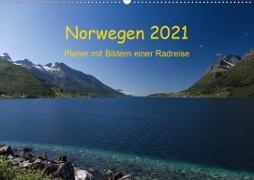 Cover-Bild zu Ulven Photography (Wiebke Schröder), Lille: Norwegen 2021 - Planer mit Bildern einer Radreise (Wandkalender 2021 DIN A2 quer)