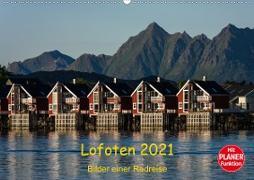 Cover-Bild zu Ulven Photography - Wiebke Schröder, Lille: Lofoten 2021 - Bilder einer Radreise (Wandkalender 2021 DIN A2 quer)