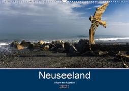 Cover-Bild zu Ulven Photography - Wiebke Schröder, Lille: Neuseeland 2021 - Bilder einer Radreise (Wandkalender 2021 DIN A2 quer)