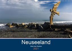 Cover-Bild zu Ulven Photography - Wiebke Schröder, Lille: Neuseeland 2021 - Bilder einer Radreise (Wandkalender 2021 DIN A3 quer)